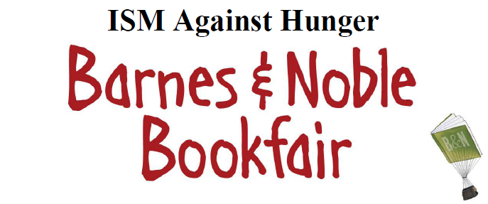 ISM Against Hunger Barnes and Noble Bookfair